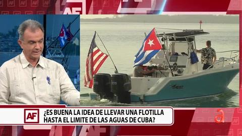 ¿Es buena la idea de llevar una flotilla hasta el límite de las aguas de Cuba?