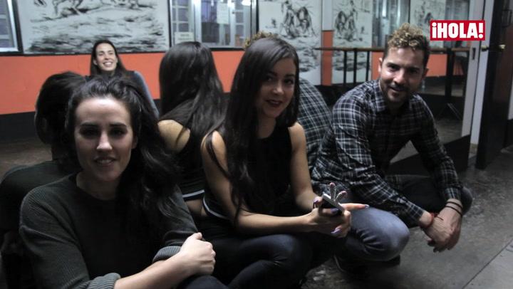 Patry Jordán, youtuber de HOLA!4u, participa en el nuevo vídeo de David Bisbal