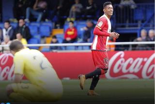 Liga de España elige golazo del Choco Lozano el mejor del Girona en la temporada