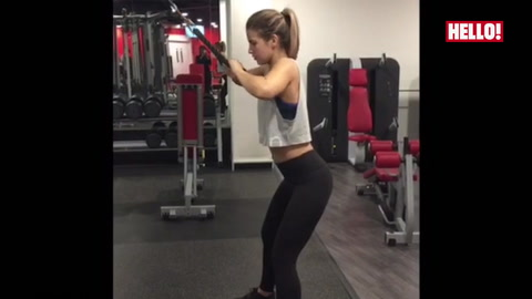 Vogue Williams fitness video