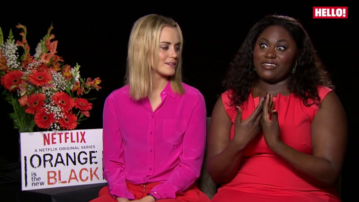 Orange is the New Black stars Taylor Schilling, Danielle Brooks, Laura Prepon and Jason Biggs chat to HELLO! about their new series