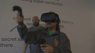 Google Tilt Brush at Moody Center