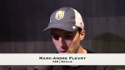 VGK Fleury, Neal & Penguins Crosby Post-Game 12/14