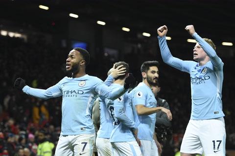 Manchester City venció 2-1 al Manchester United en la Premier League