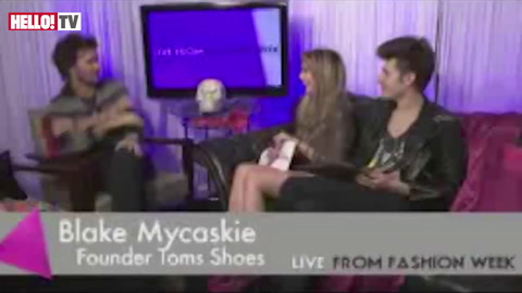 Interview: TOMS shoes founder, Blake Mycoskie