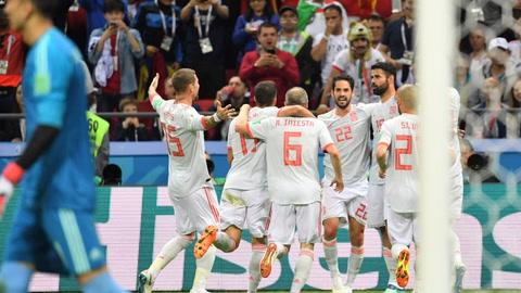 España vence a Irán por 1-0 y lidera junto a Portugal el Grupo B