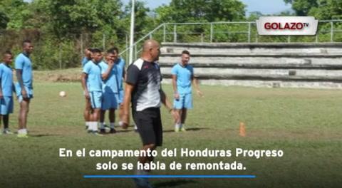 En el campamento del Honduras Progreso solo se habla de remontada