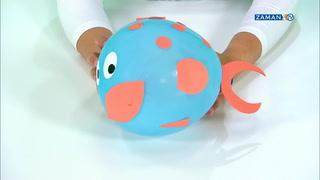 [KAĞIT HELVA] - Balon balık yapımı