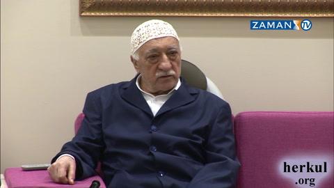 Fethullah Gülen Hocaefendi'nin yeni sohbeti:Özür dilemek iman emaresi, mazeret döktürmek nifak alametidir!
