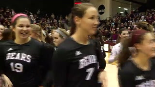 Volleyball Bears win MVC regular season title