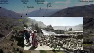 Zona afectada por sismo en Perú, en riesgo geológico