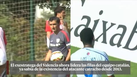 El destino del Choco Lozano y Ernesto Valverde era el Barcelona