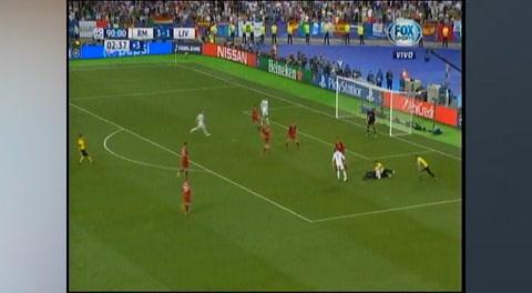 Hincha impide el gol de Cristiano Ronaldo en la final de la Champions League