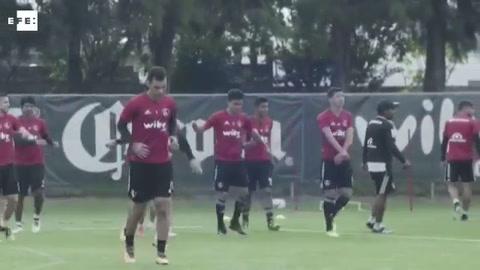 El futbolista Rafael Márquez se reintegra a los entrenamientos del Atlas