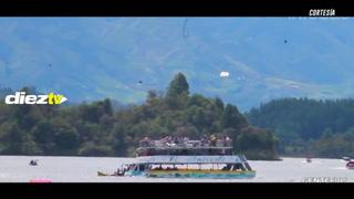 ¡Tragedia! El momento en el que un barco turístico se hunde en Colombia y deja tres personas fallecidas