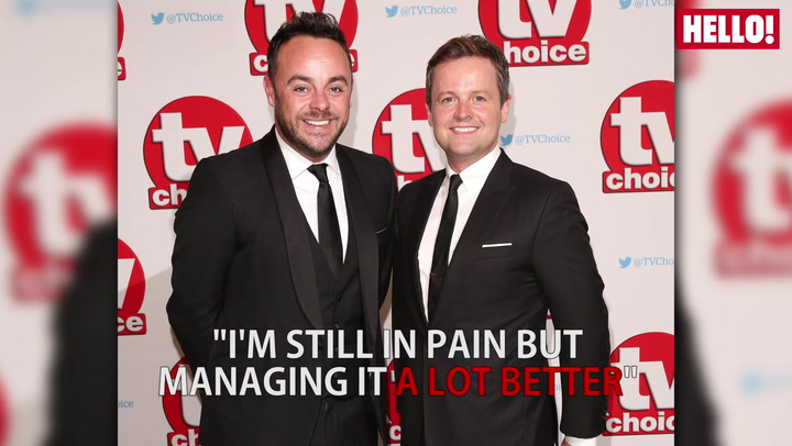 Ant McPartlin has bravely spoken about his addiction to prescription drugs and alcohol