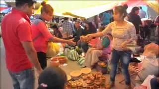 El trueque revive una vez al año en San Pedro de Cholula