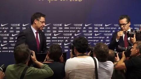 Ernesto Valverde, nuevo entrenador del Barcelona