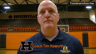 Haworth on Johnson Signing with Murray State
