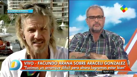 Facundo Arana: No consigo que me importe que Siciliani no me quiera
