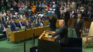 Trump amenaza ante la ONU a estados