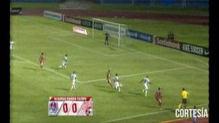 Olimpia empata 0-0 ante  Santos de Guápiles en la final de la Concacaf