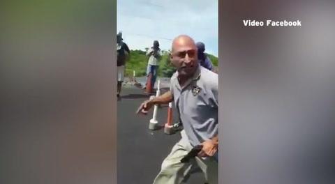 Honduras: Hombre armado confronta a miembros del MEU
