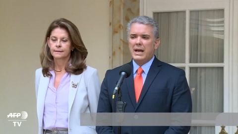 Santos y Duque se reúnen tras presidenciales en Colombia