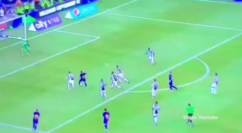 Gol de Neymar a Juventus (Amistosos Europeos 2017)