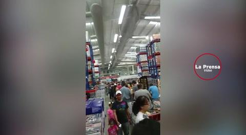 Sampedranos se vuelcan a comprar en los supermercados