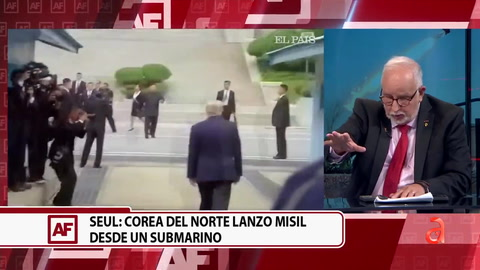 Seul: Corea del Norte lanzó misil desde un submarino