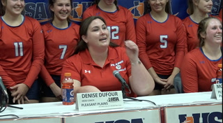 Pleasant Plains Volleyball Semifinal Sound
