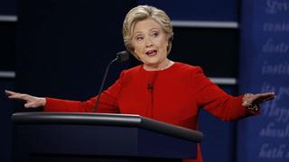 Clinton se impone a Trump en debate, dicen sondeos