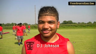 Johnson Ready to Contribute on the Gridiron