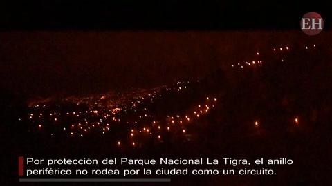 Así luce Tegucigalpa y Comayagüela vista desde el anillo periférico