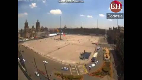 Alarma si fue activada segundos antes del terremoto en México