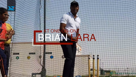 KT One-on-One: Brian Lara