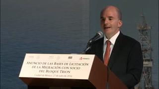 Lanzan primera licitación de asociación con Pemex en el Golfo