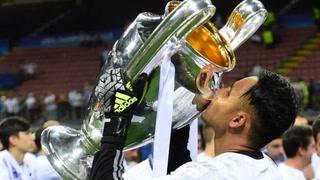Keylor Navas presume en redes sociales sus logros con el Real Madrid