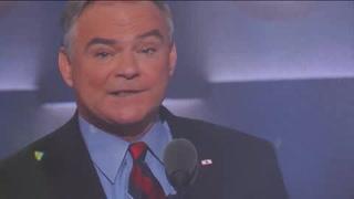 Kaine arremete contra Trump al aceptar candidatura a vicepresidencia