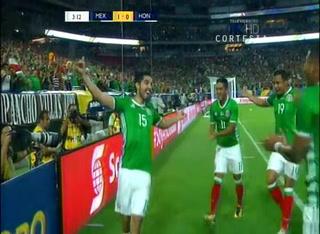 México se pone a ganar ante la H en los minutos de arranque
