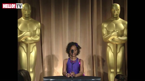 Quvenzhane Wallis on being happy and excited about the Oscars
