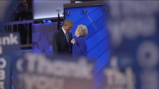 Obama respalda a Clinton como candidata de la esperanza