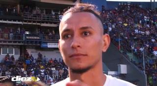 Erick Andino sobre su futuro: 'Motagua es la prioridad'