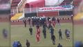 Van'da futbolcu asker selamı yapınca ortalık karıştı