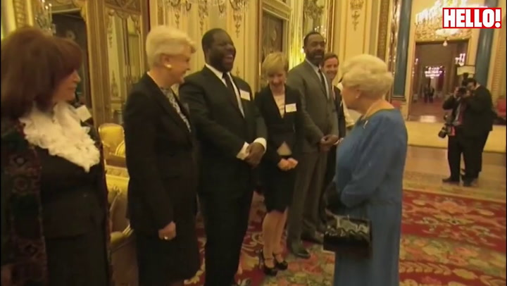 Kate Middleton and the Queen host star-studded RADA reception