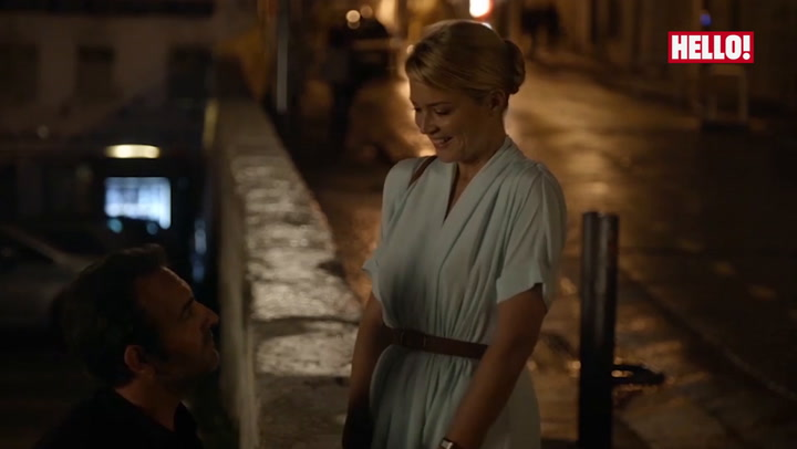 Exclusive clip: Jean Dujardin and Virginie Efira\'s romantic scene from Up For Love