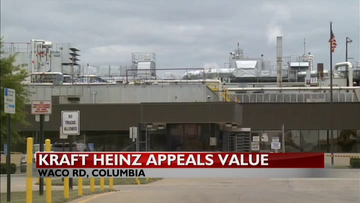 Kraft Heinz Appeals Property Tax