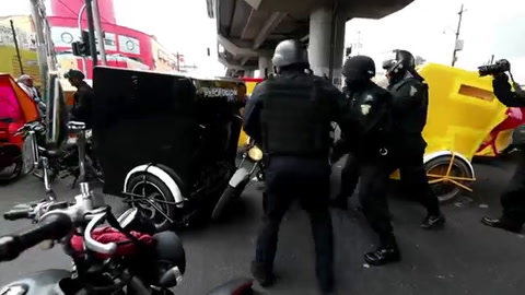 Violencia en Ciudad de México por muerte de presunto líder narco