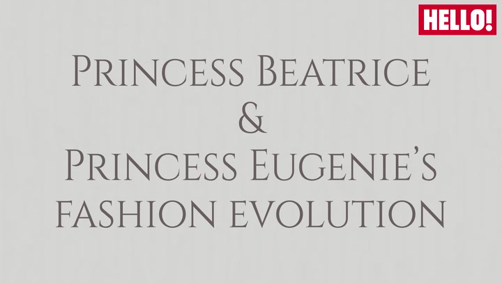 Princess Beatrice And Princess Eugenie\'s Fashion Evolution